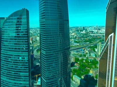 Экскурсия башня Империя смотровая площадка (Москва-Сити)