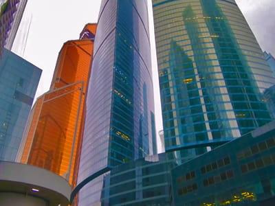Смотровая площадка Москва Сити - история небоскребов