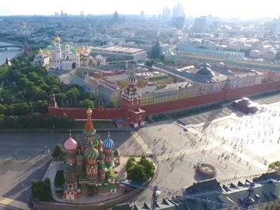 Зимняя обзорная экскурсия на автобусе по Москве